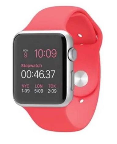 $259.99 Apple Watch 38mm Aluminum Case Sport with Color Sports Band