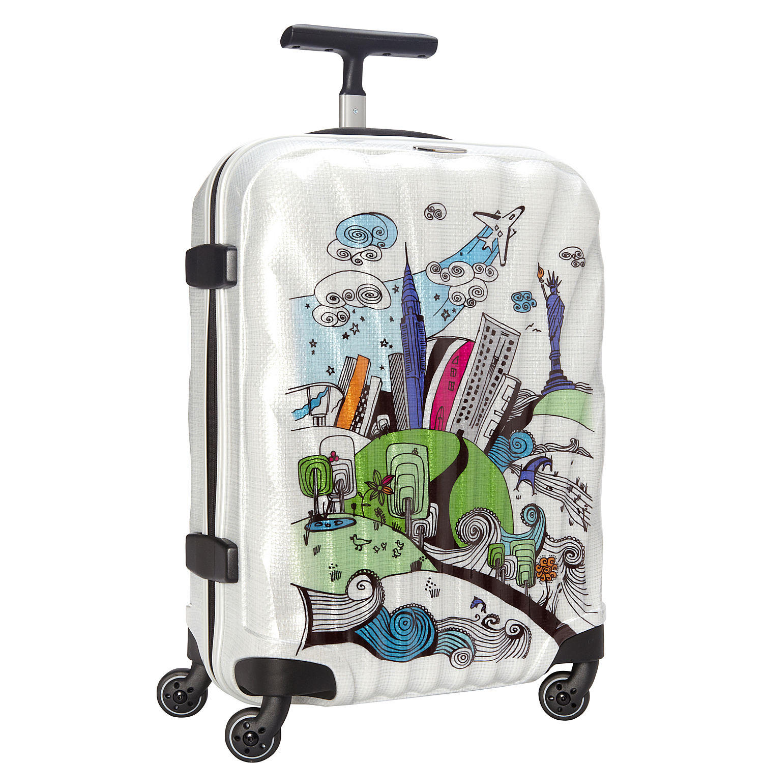 $290.99 Samsonite Black Label Cosmolite Limited Edition NYC Spinner 55/20