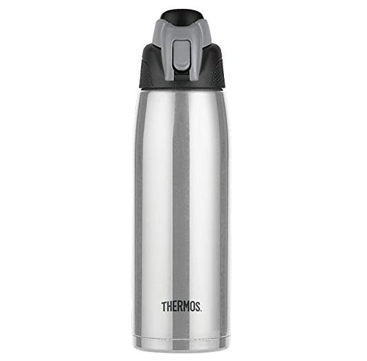 $19.52 Thermos Vacuum Insulated 24 Ounce Stainless Steel Hydration Bottle, Charcoal