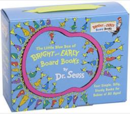 $10.01 The Little Blue Box of Bright and Early Board Books by Dr. Seuss