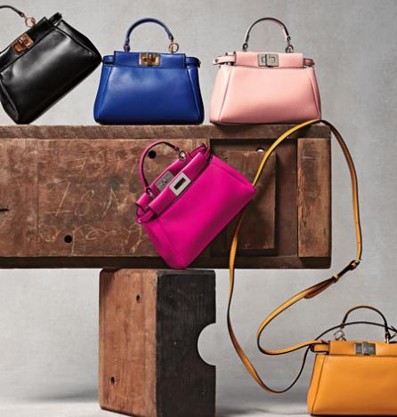 10% Off Fendi Peekaboo Micro Satchel Bag @ Bergdorf Goodman