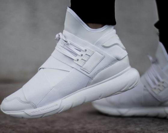$300 Y-3 Qasa High-Top Trainer Sneaker On Sale @ Neiman Marcus