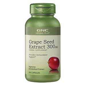 GNC Herbal Plus Grape Seed Extract 300mg
