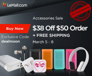 $38 off $50 Letv Cell Phone Accessories & TV Accessories Sale