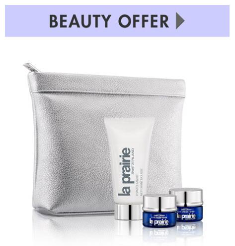 Dealmoon Exclusive! Receive a La Prairie Gift Set with any La Prairie purchase of $400 of more @ Neiman Marcus