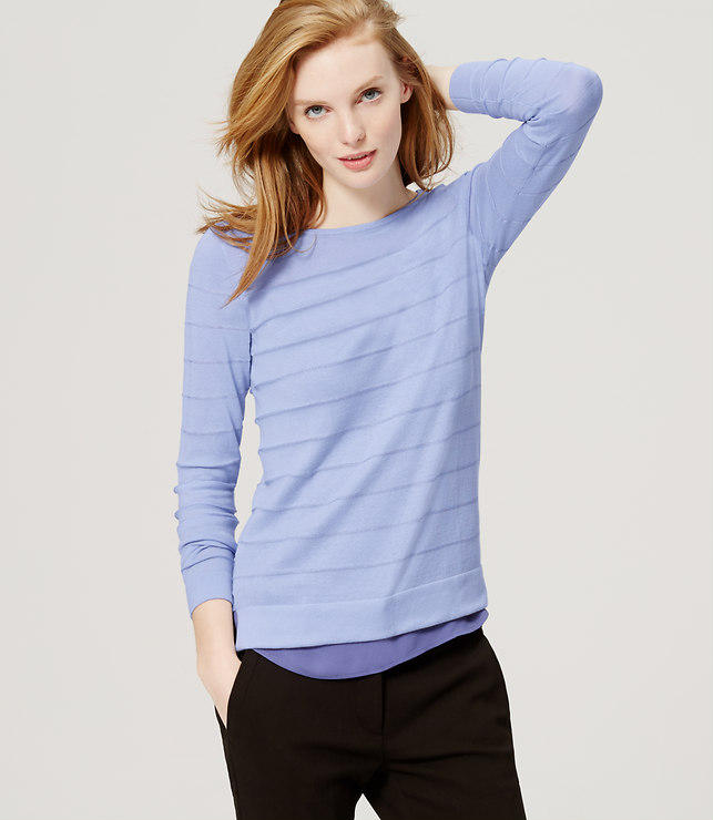 From $18 Select Pants, Jeans, Tops and Sweaters @ Loft