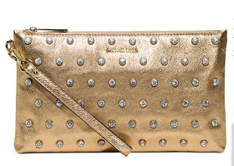 MICHAEL Michael Kors Adrienne Large Zip Clutch