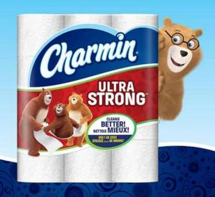 3x 18-Count Charmin Ultra Strong/Soft Mega Roll Toilet Paper