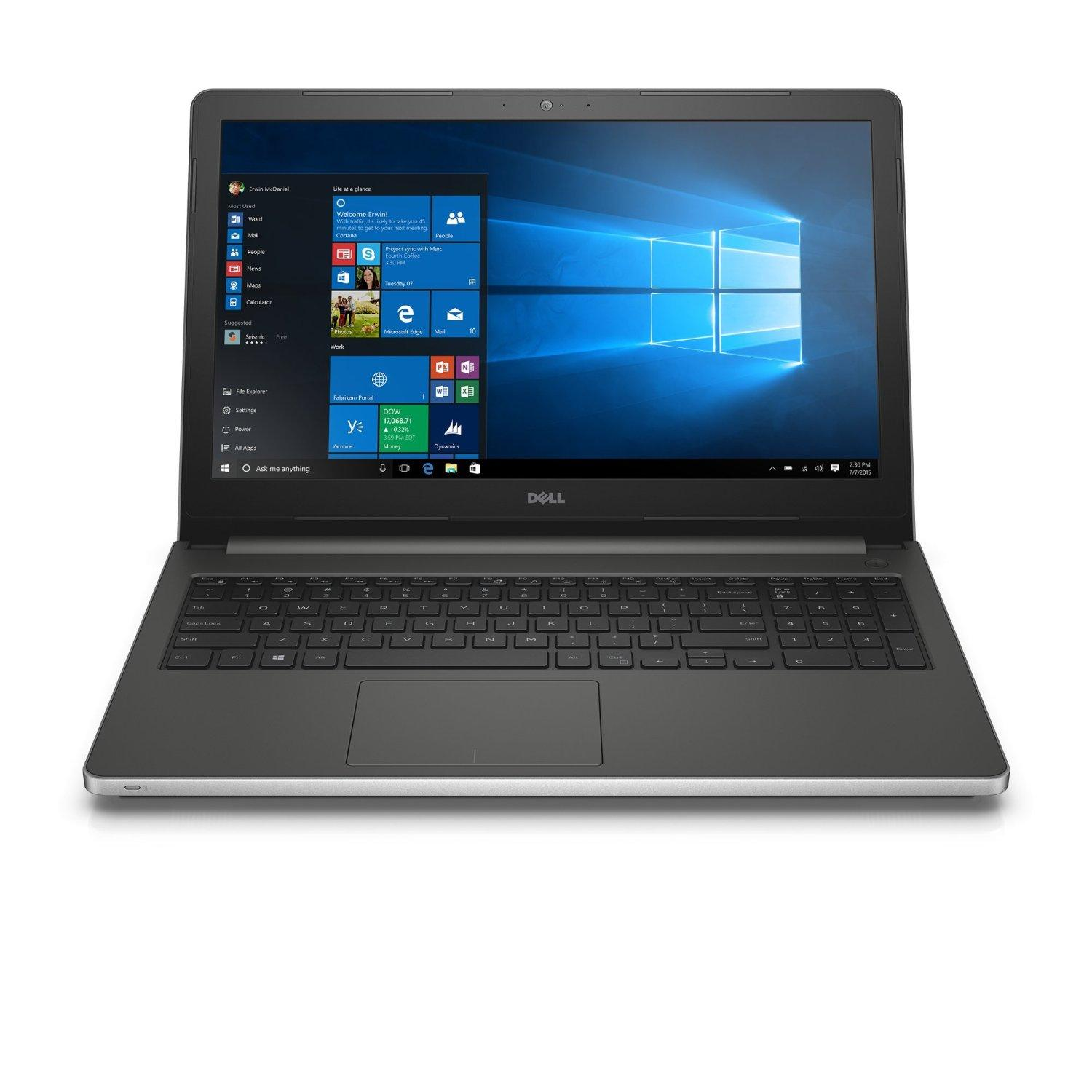 $599.00 Dell Inspiron i5559-5347SLV 15.6 Inch FHD Touchscreen Laptop with Intel RealSense