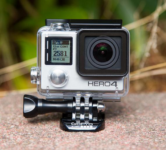 $299.99 GoPro HD HERO4 Silver Edition Action Camcorder CHDHY-40+Free GoPro Grab Bag Of Mounts Collection