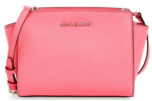 MICHAEL Michael Kors 'Medium Selma' Saffiano Leather Crossbody Bag @ Nordstrom