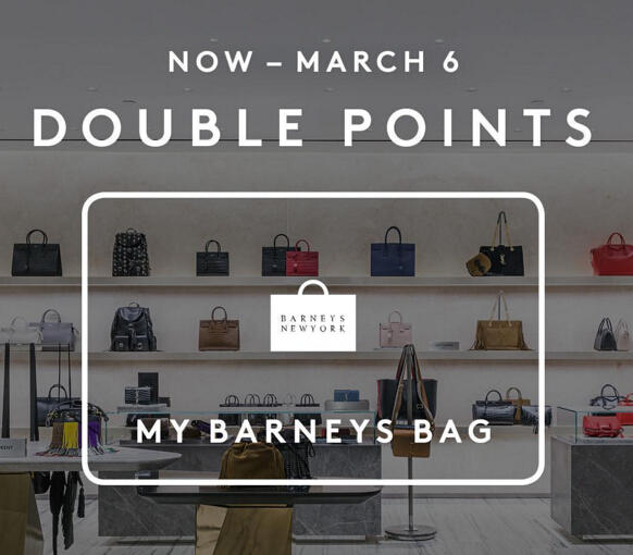 Earn Double Points @Barneys New York