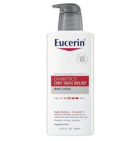 $9.29 Eucerin Diabetics' Dry Skin Relief Body Lotion, 16.9 Ounce