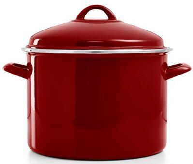 Martha Stewart Collection 10 Qt. Enamel on Steel Stockpot