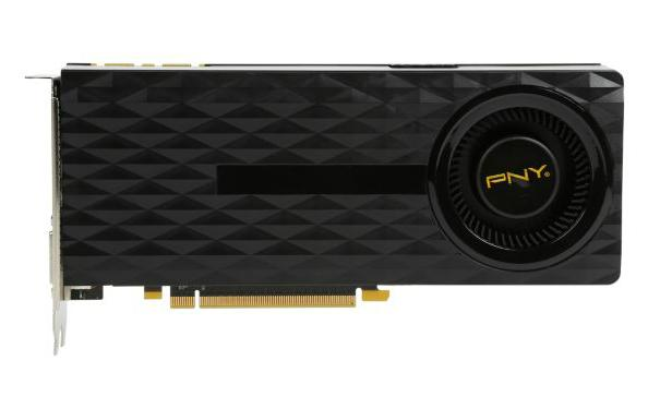 PNY GeForce GTX 970 4GB Rev 2 Video Card
