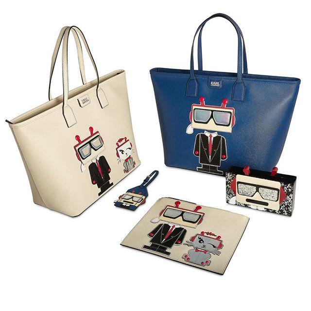 20% Off + Free Shipping Karl Lagerfeld Robot bag