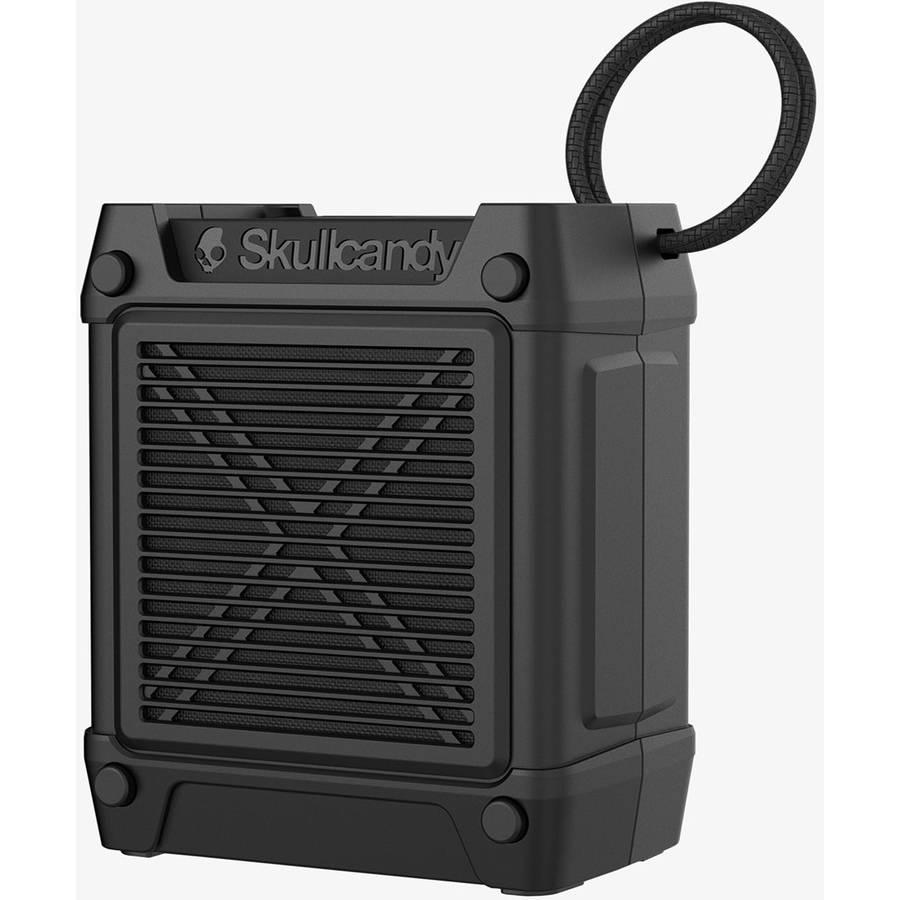 Skullcandy Shrapnel Bluetooth Portable Speaker with On-Board Microphone, Black