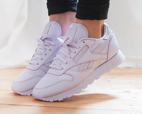 $85 Reebok Classics  Coral Leather Spirit FACE Stockholm Edition Sneakers  @ SSENSE