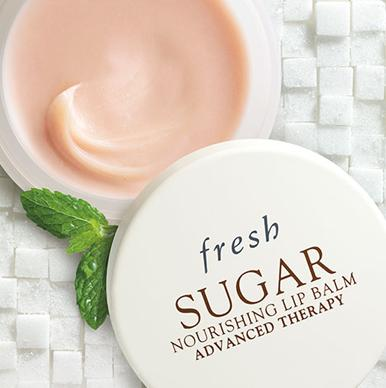 Free Sugar Nourishing Lip Balm Advanced Therapy Deluxe Sample With Over $100 Purchase @ Fresh