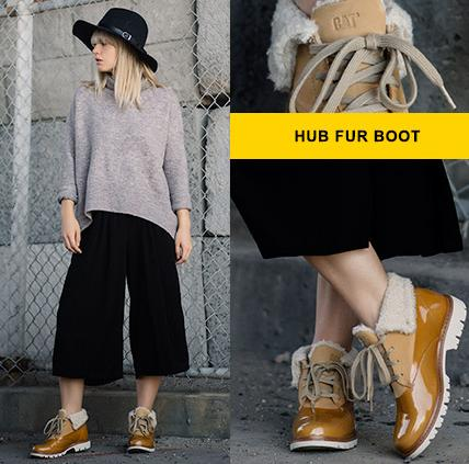 $52 Caterpillar Casual Hub Fur Women's Boots On Sale @ 6PM.com