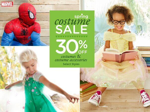 30% Off Costume Sale @ disneystore