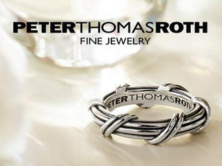 Only Available at Dealmoon! $50 Off Each Piece+Free Shipping Jewelry @ PeterThomasRoth Fine Jewelry