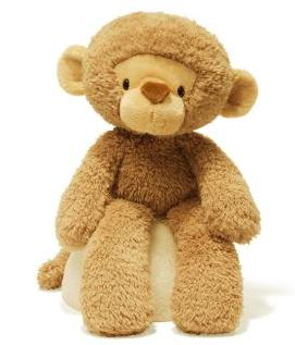 Gund Fuzzy Monkey Stuffed Animal @ Amazon