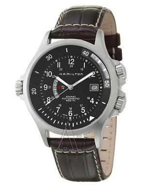 Hamilton Men's Khaki Navy GMT Watch H77615833