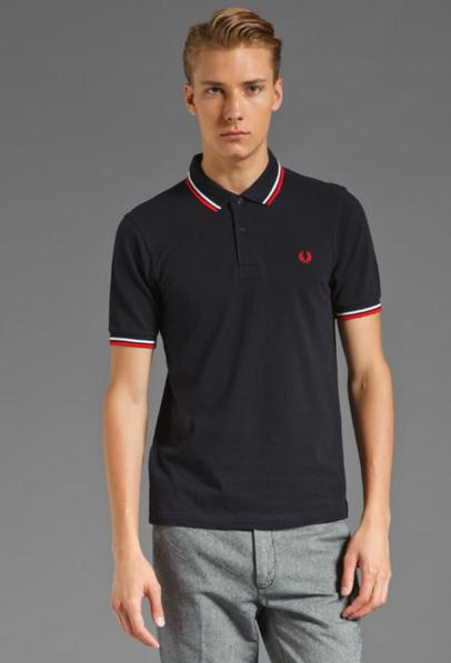 $48.88 Fred Perry Men's Slim-Fit Twin-Tipped Polo Shirt