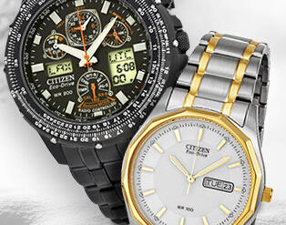 40% or More Off Citizen Watches for Men & Women @ Amazon.com