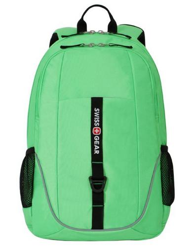 SwissGear SA6639 Computer Backpack - Fits Most 15 Inch Laptops and Tablets, Green or Yellow
