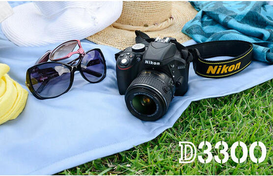 Nikon D3300 Digital SLR Camera (Refurbished) + Paintshop Pro X7