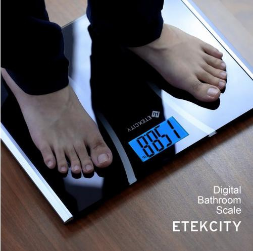 Etekcity Ultra Wide Digital Body Weight Bathroom Scale, 440lb /200kg, 15.4