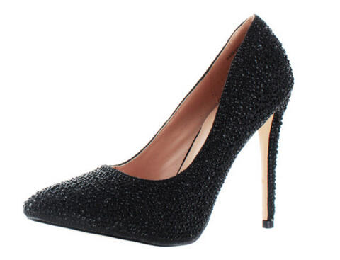 $34.99 Lauren Lorraine Womens Rhinestone Shoes @ Street Moda