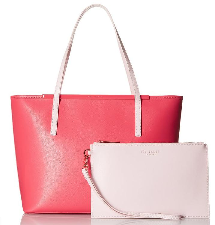 Ted Baker Elsiee Large Shopper with Pouch Tote Bag