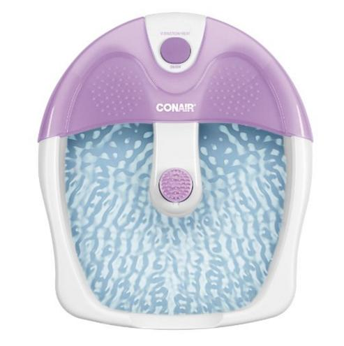 Conair Foot Spa with Vibration and Heat @ Amazon