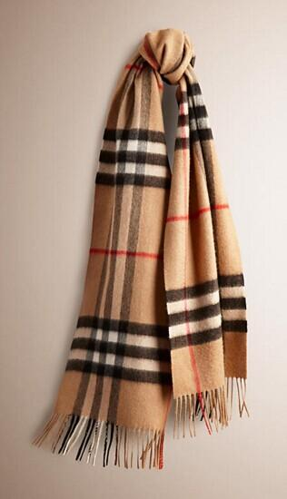 From $309 Burberry Scarf @ JomaShop.com