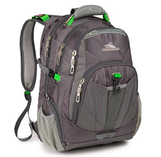 High Sierra XBT Daypack, Mercury Charcoal