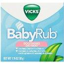 Vicks BabyRub Soothing Chest, Neck and Back Ointment 1.76 Oz (Pack of 6)