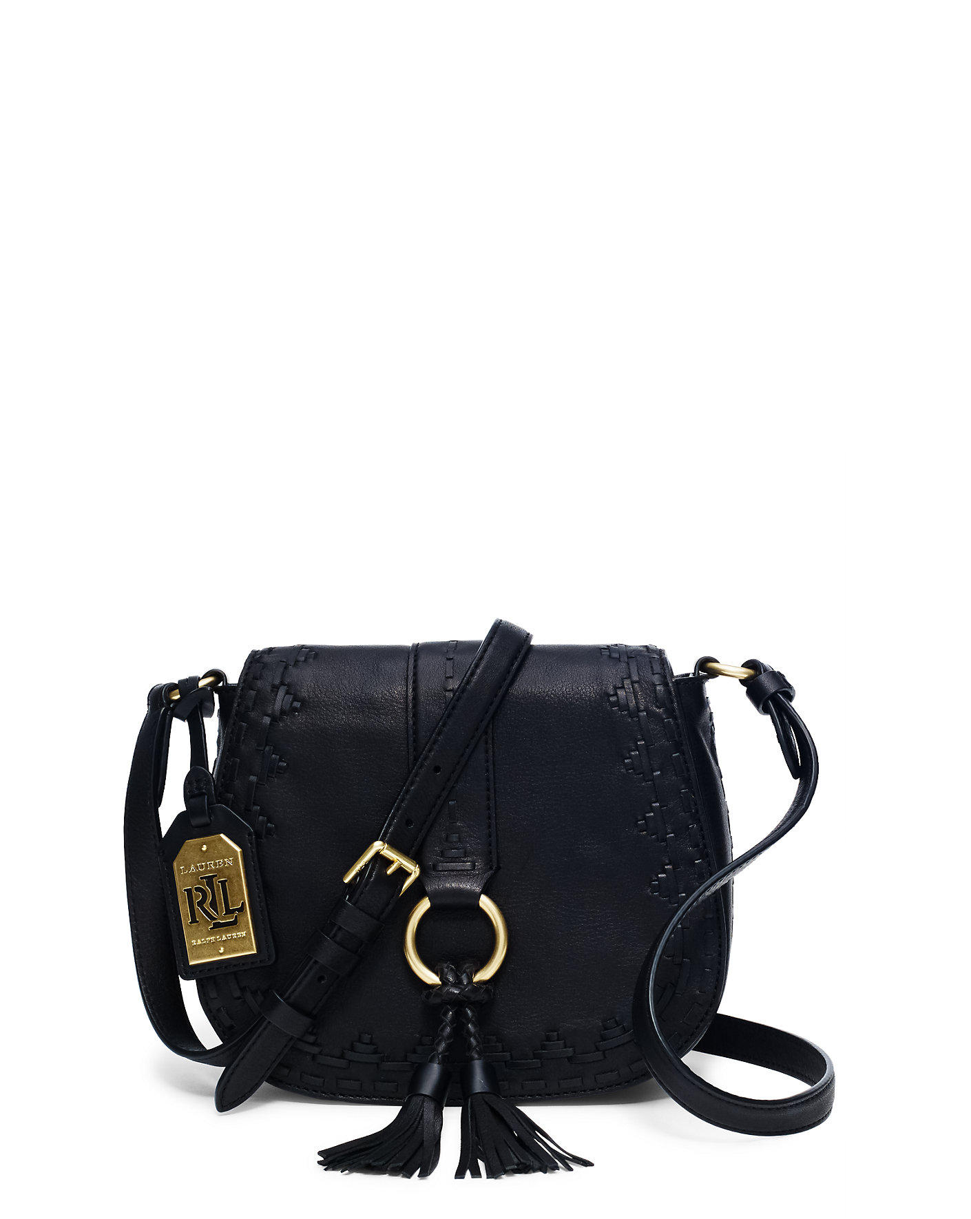 Ralph Lauren Ridley Leather Cross-body Bag