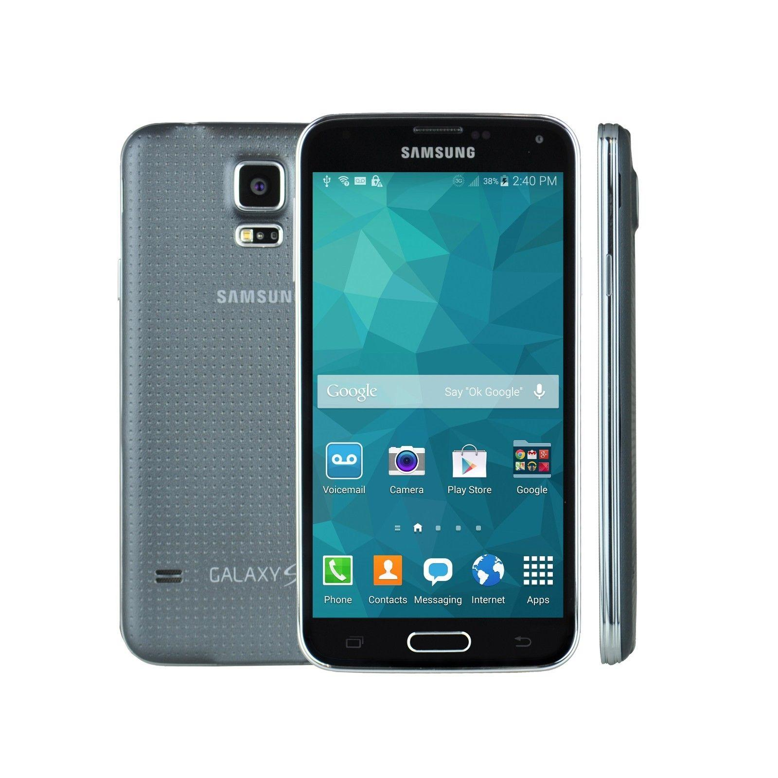 $159.99! Samsung Galaxy S5 16GB G900 LTE Smartphone + 100% Free Mobile Phone Service