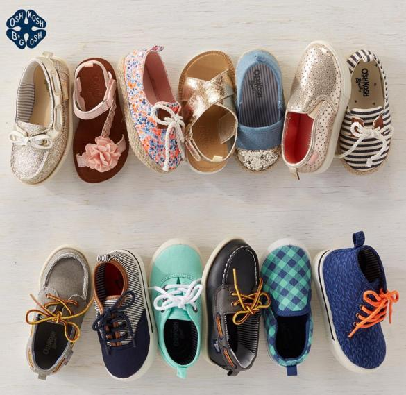 2 Days Only! Buy One Get One Free Shoes Sale @ Oshkosh