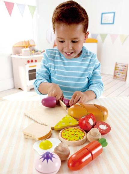 Hape - Playfully Delicious - Chef's Choice Food Play Set @ Amazon