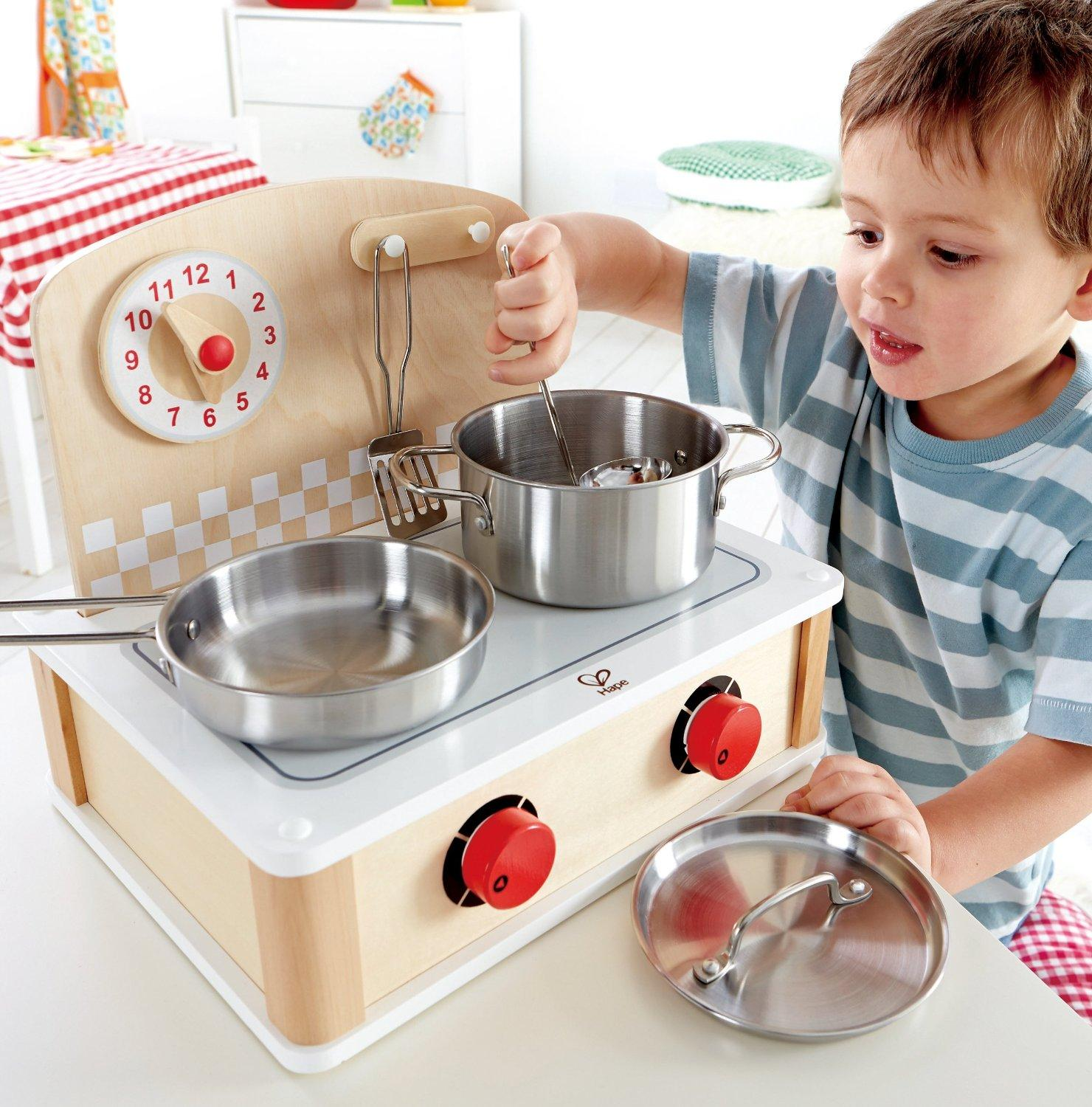 Hape Playfully Delicious Tabletop Cook and Grill