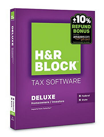 Up to 56% Off Select H&R Block Tax Software @ Amazon.com
