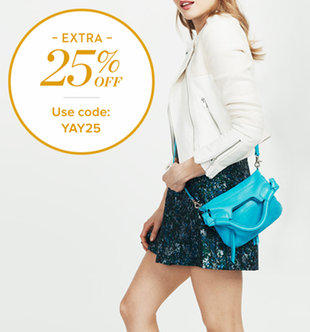 Up to 60% Off + Extra 25% Off Meli Melo, kate spade new york & More Designer Handbags On Sale @ Gilt