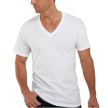 Hanes Men's Six-Pack of V-Neck T-Shirts @ Amazon
