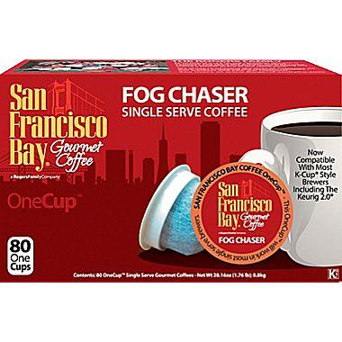 $62.98 San Francisco Bay OneCup Fog Chaser Single Serve Coffee, 240 Pack