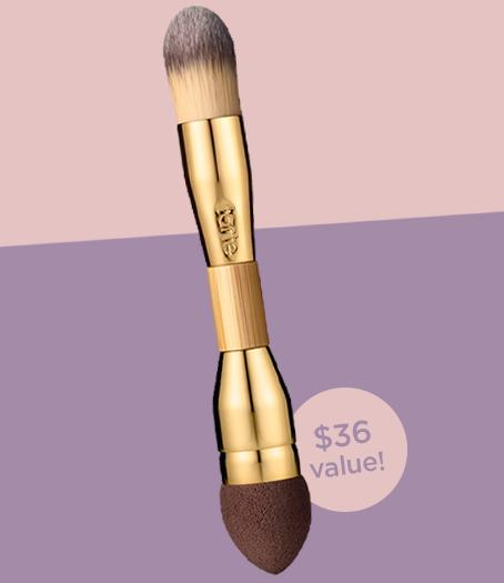 Free Double-ended Camouflage Brush ($36 value) + Free Shipping on Orders of $75 @ Tarte Cosmetics