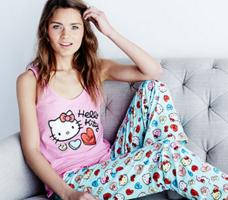 Up to 50% Off Hello Kitty & Paul Frank Sleepwear Sale @ Hautelook